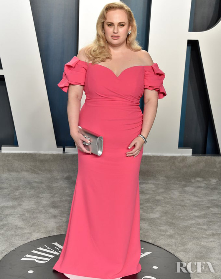Rebel Wilson Badgley Mischka  The 2020 Vanity Fair Oscar Party