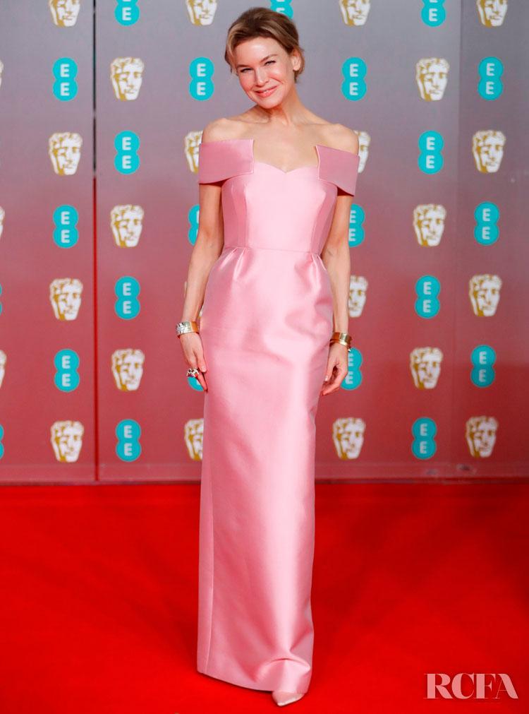 Renée Zellweger In Prada - 2020 BAFTAs