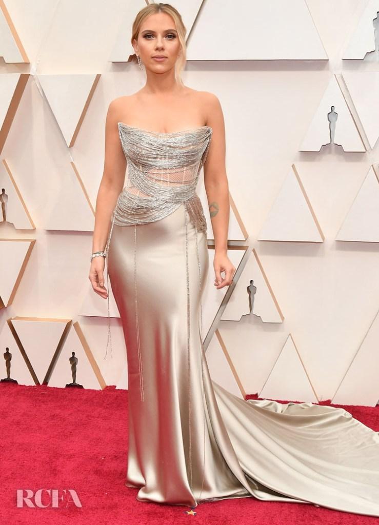 Scarlett Johansson In Oscar de la Renta - 2020 Oscars