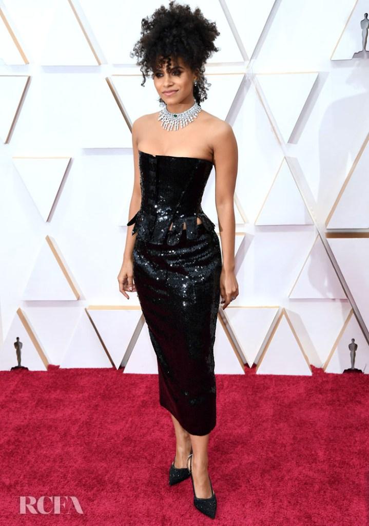 Zazie Beetz In Thom Browne - 2020 Oscars