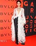 Zendaya Coleman Wore Rahul Mishra Haute Couture To The Bvlgari B.Zero1 Rock Party