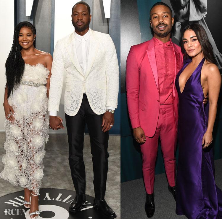 2020 Oscars & Vanity Fair Oscar Party Menswear