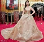 Liu Yifei  刘亦菲 Wore Elie Saab Haute Couture To The 'Mulan' World Premiere
