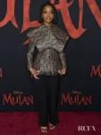 Marsai Martin Wore Nina Ricci To The 'Mulan' World Premiere