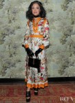 Tessa Thompson Wore Gucci To The Opening Of Gucci Osteria