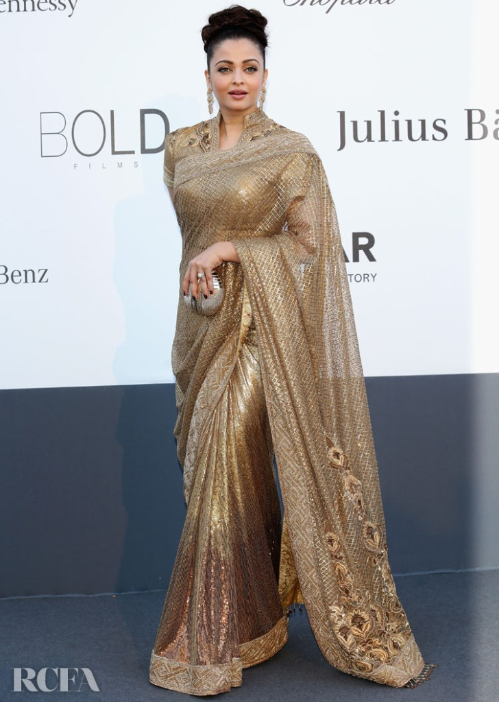Aishwarya Rai 2013 amfAR's 20th Annual Cinema Against AIDS in Tarun Tahiliani