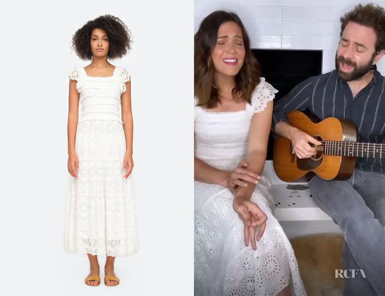 Mandy Moore's SEA New York Daisy Dress