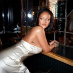 Rihanna Promotes Her New Fenty 'Cheeks Out' Collection In Deveaux New York