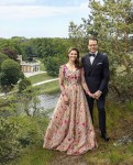 Crown Princess Victoria Of Sweden Celebrates Her 10th Wedding Anniversary In Frida Jonsvens Couture, H&M & Elie Saab Haute Couture