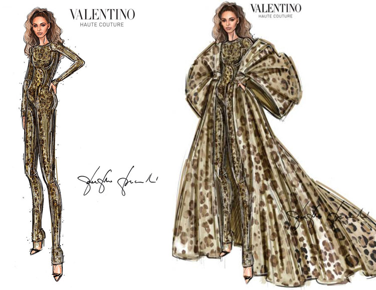 Beyonce Valentino Black is King