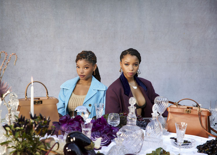 Chloe x Halle For Fendi #MeAndMyPeekaboo