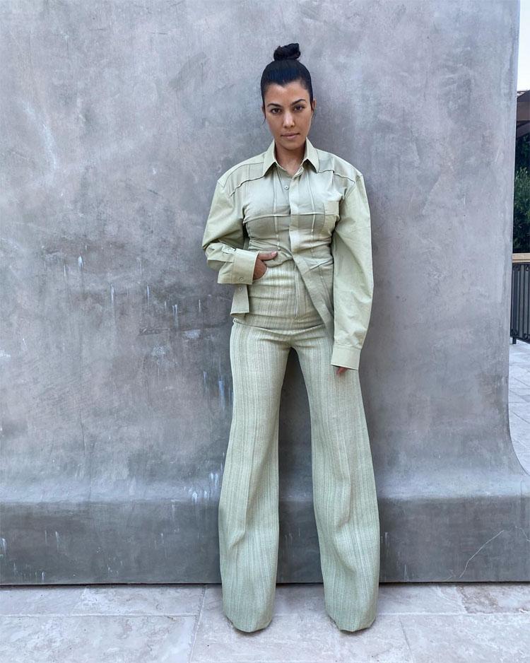 Kourtney Kardashian Wore Jacquemus On Instagram
