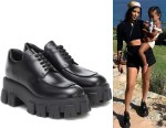 Kourtney Kardashian's Prada Leather Brogues