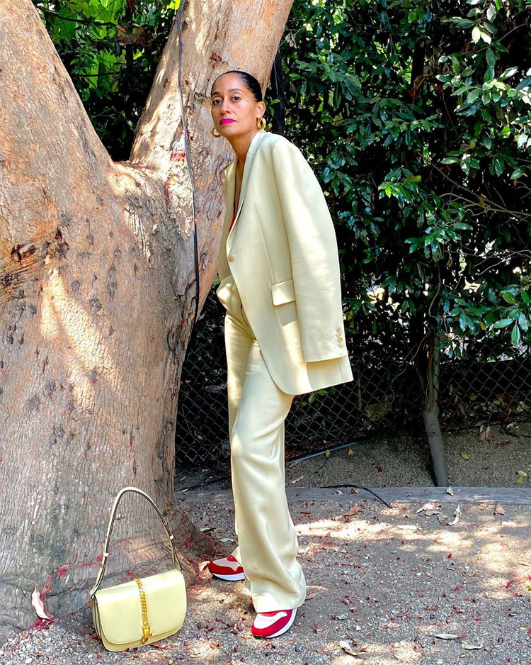 Tracee Ellis Ross Rocks Mellow Yellow The Row For The 'Gram