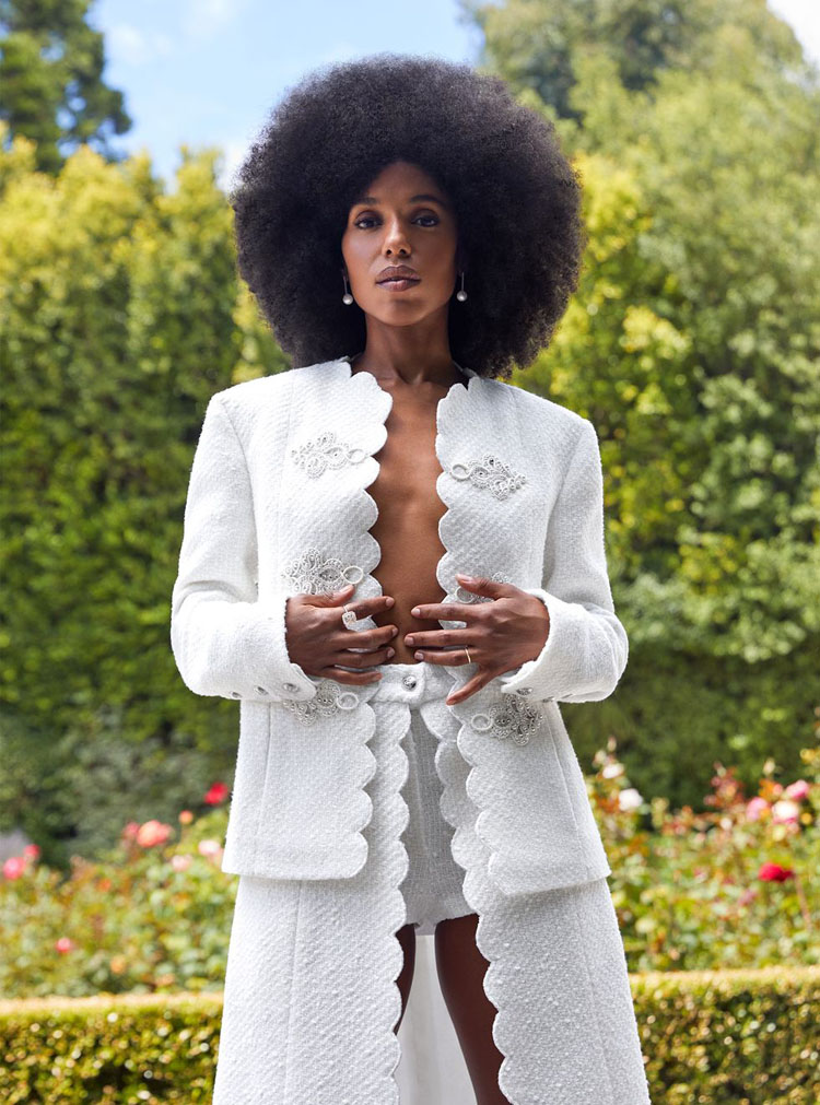 Kerry Washington For Town & Country September 2020