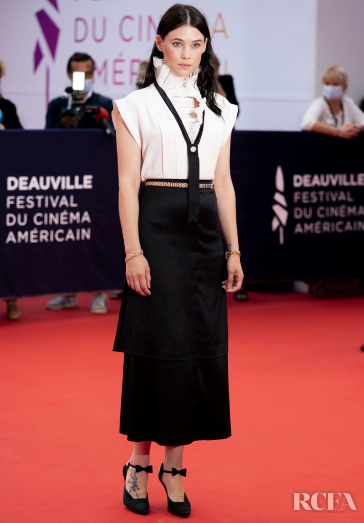Astrid Berges-Frisbey Deauville American Film Festival Opening Ceremony