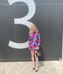 Emma Roberts Was Instaglam In Versace