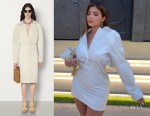 Kylie Jenner's Bottega Veneta Shirt Dress