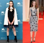 Stacy Martin Wore Louis Vuitton For The 'Amants' Venice Film Festival Photocall & Premiere