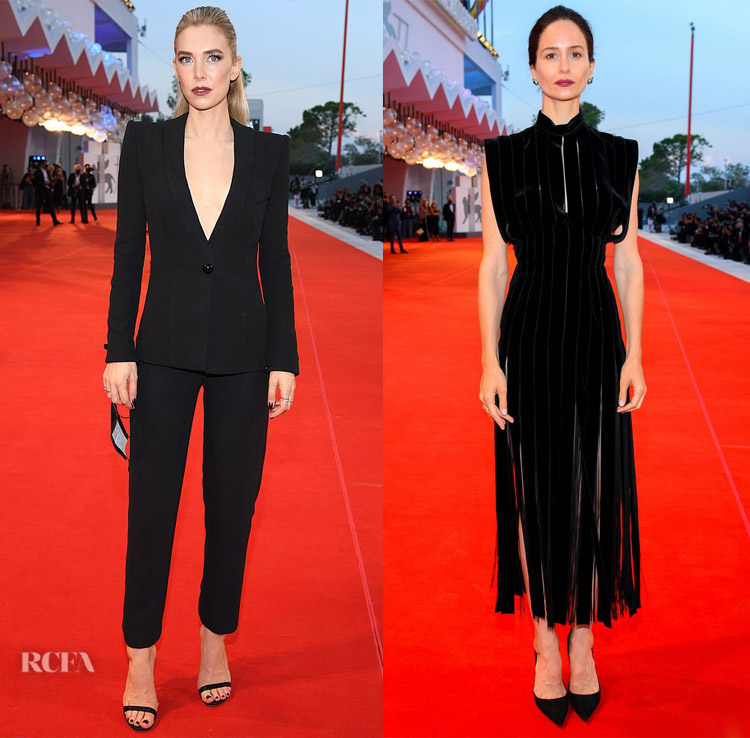 'The World To Come' Venice Film Festival Photocall & Premiere  Vanessa Kirby and Katherine Waterston