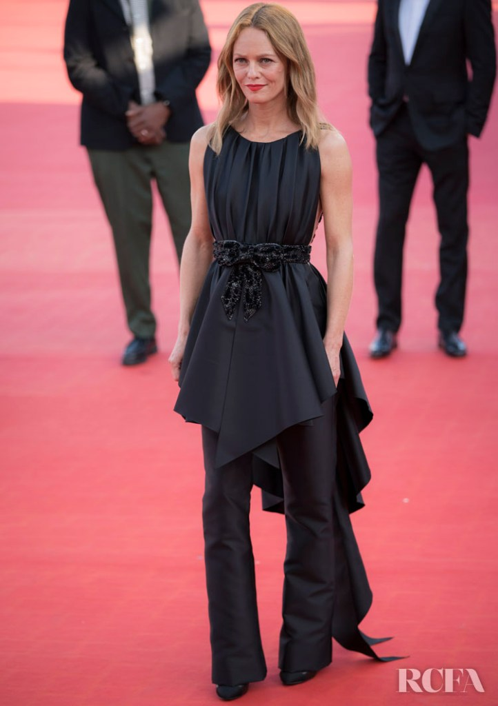 Vanessa Paradis Wore Chanel For The 2020 Deauville American Film Festival Closing Ceremony