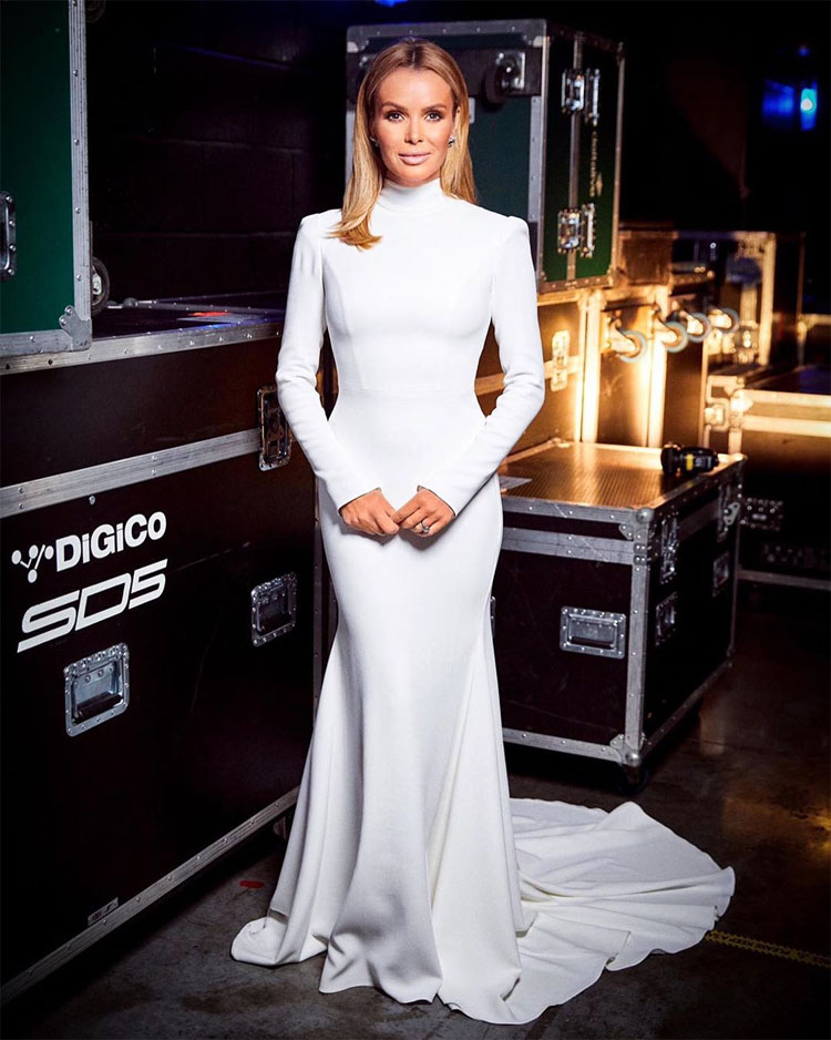 Amanda Holden Wore Two Suzanne Neville Looks On Britain's Got Talent
