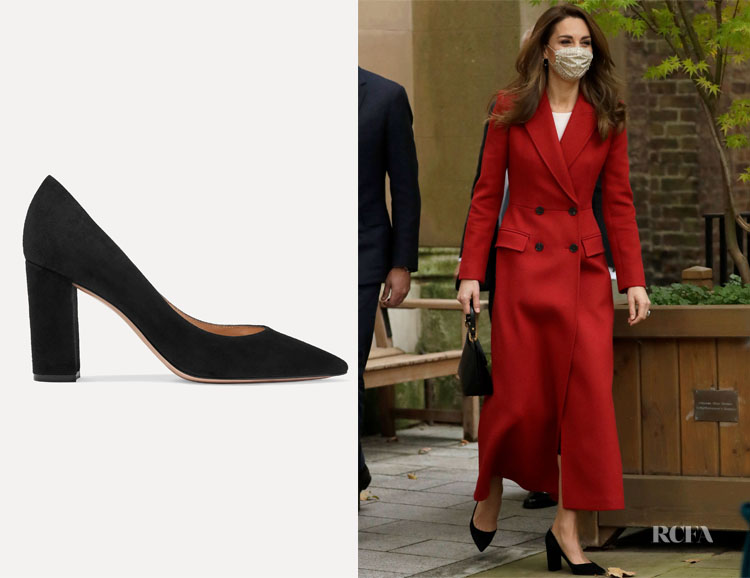 Catherine, Duchess of Cambridge Gianvito Rossi Piper Pumps
