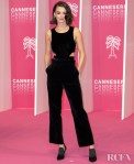 Charlotte Le Bon Wore Christian Dior To Canneseries 2020