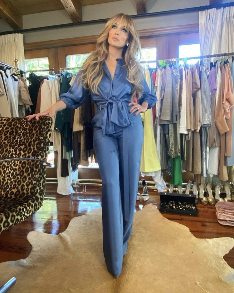 Jennifer Lopez Wore LaPointe For JLo Beauty