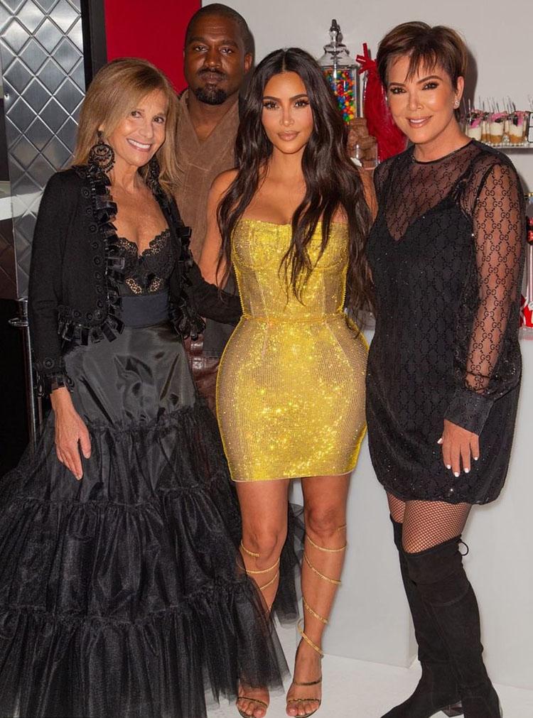 Kim Kardashian Celebrates Her 40th Birthday In Vintage Dolce & Gabbana & Vivienne Westwood