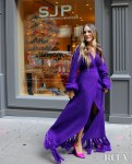 Sarah Jessica Parker Was Photoshoot Ready In Hanifa