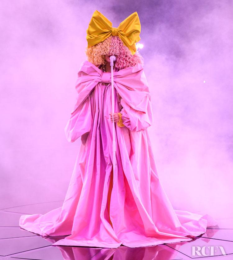 Sia Wore Dolce & Gabbana Alta Moda To The 2020 Billboard Music Awards
