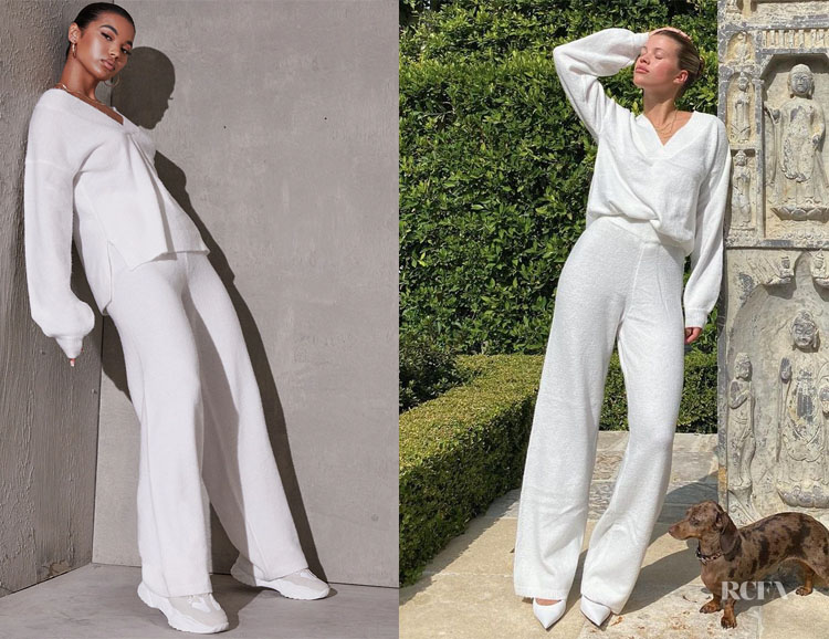 Sofia Richie's PrettyLittleThing Knitted Set