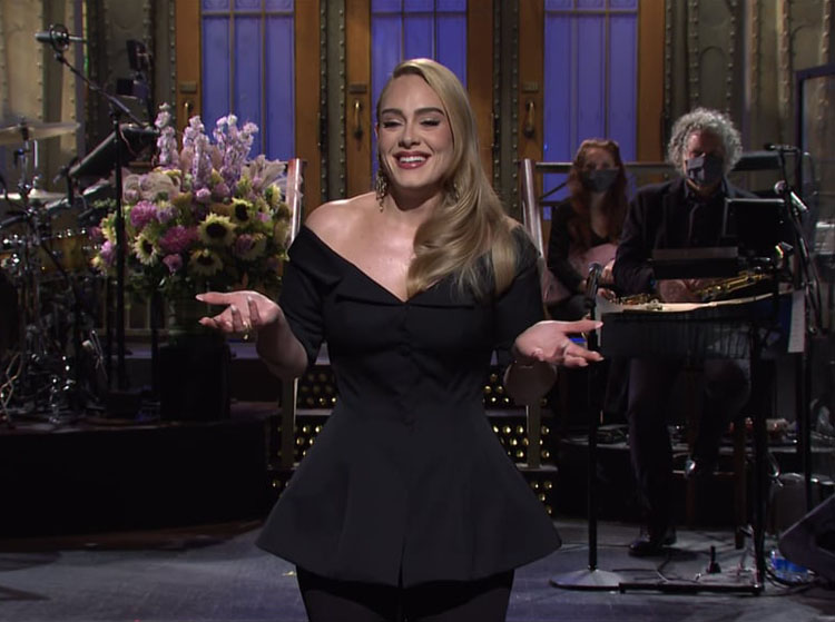 Adele Hosted Saturday Night Live in Brock Collection