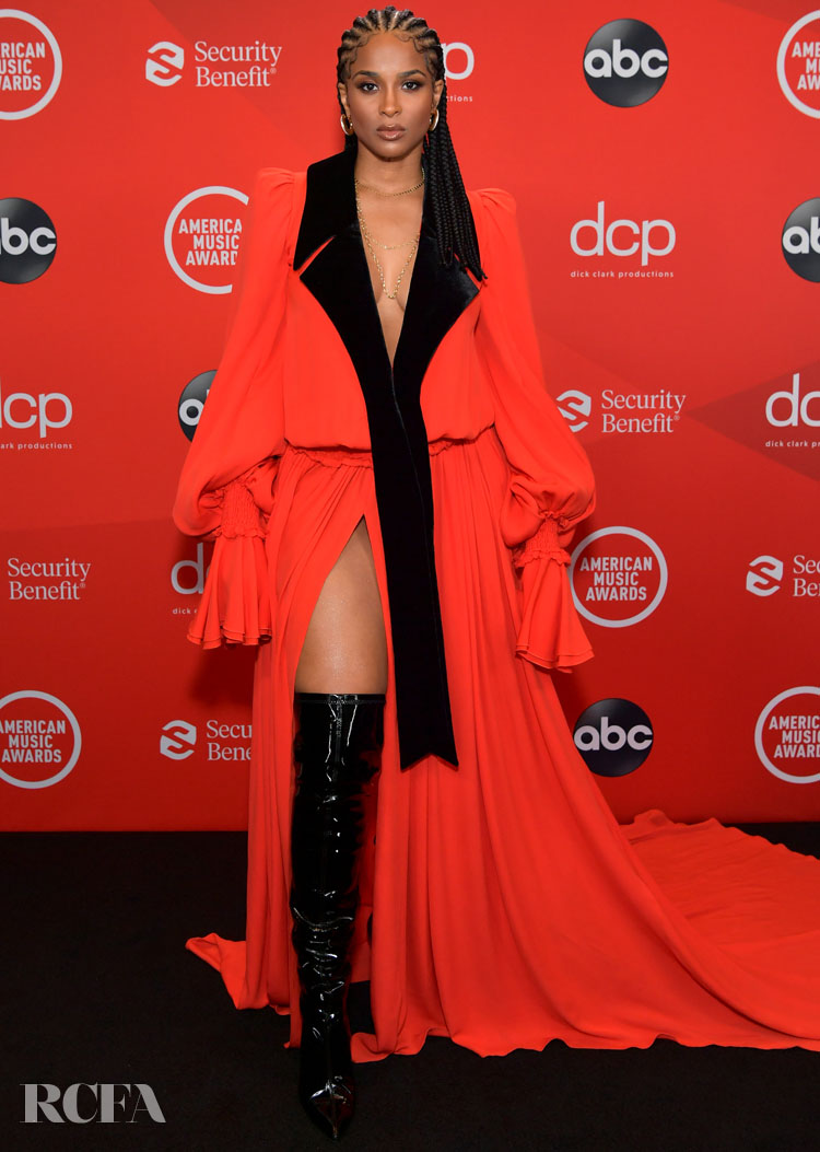 Ciara Wore Balmain To The 2020 American Music Awards