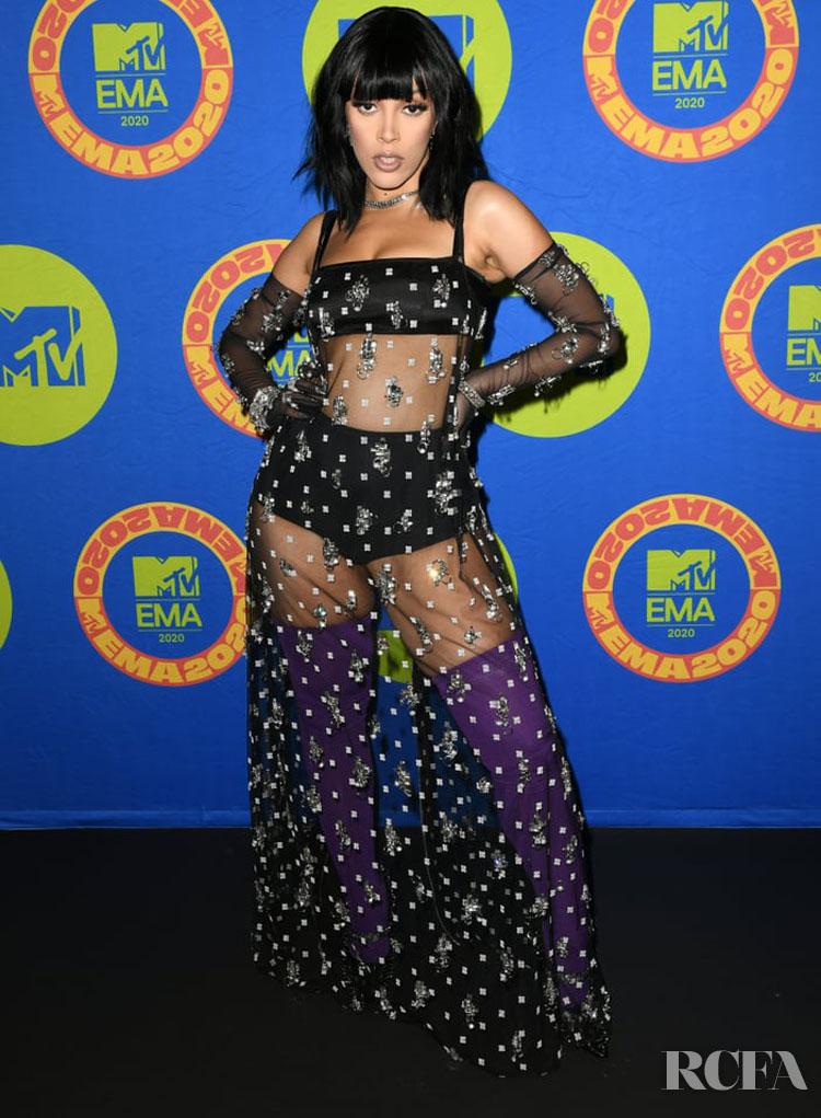 Doja Cat Wore Givenchy To The 2020 MTV EMAs