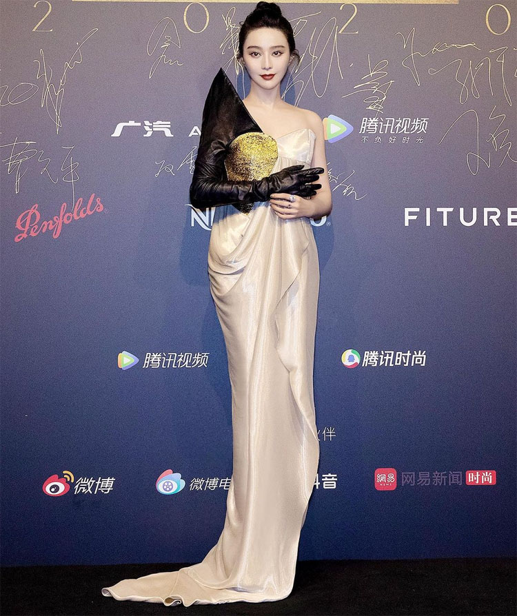 Fan Binging 范冰冰 In Ronald van der Kemp Haute Couture - ELLEMEN Film Heroes Ceremony