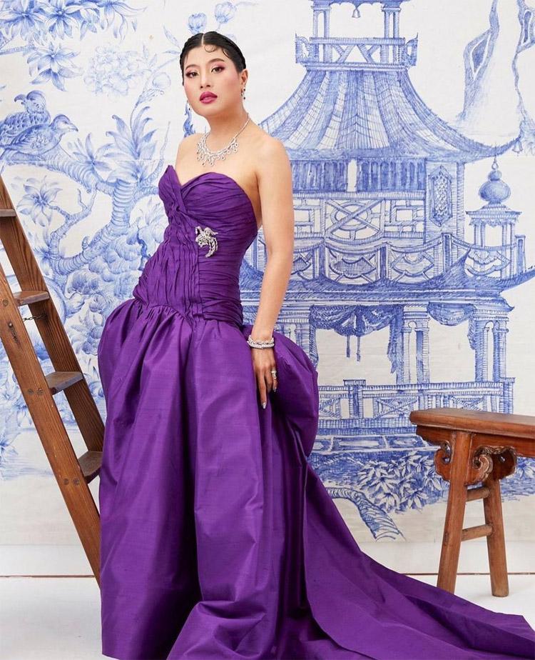 HRH Sirivannavari Nariratana of Thailand Designed Her Own Dress For Vogue Thailand Gala