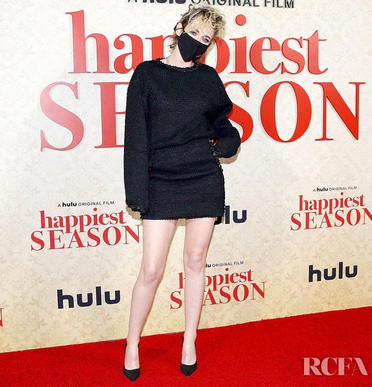 Kristen Stewart Chanel 'Happiest Season' LA Premiere