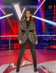 Laura Pausini Wore Etro On 'La Voz'