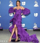 Leslie Grace Wore Dundas To The 2020 Latin GRAMMY Awards