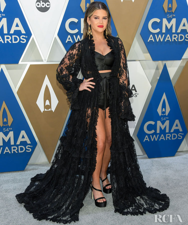 Maren Morris Wore Dolce & Gabbana To The 2020 CMA Awards