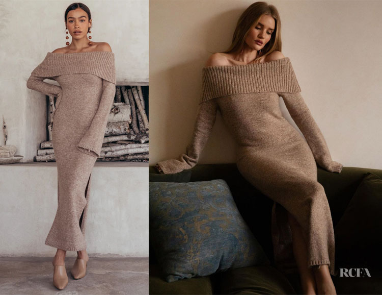 Rosie Huntington-Whiteley's Cult Gaia Mariel Knit Dress