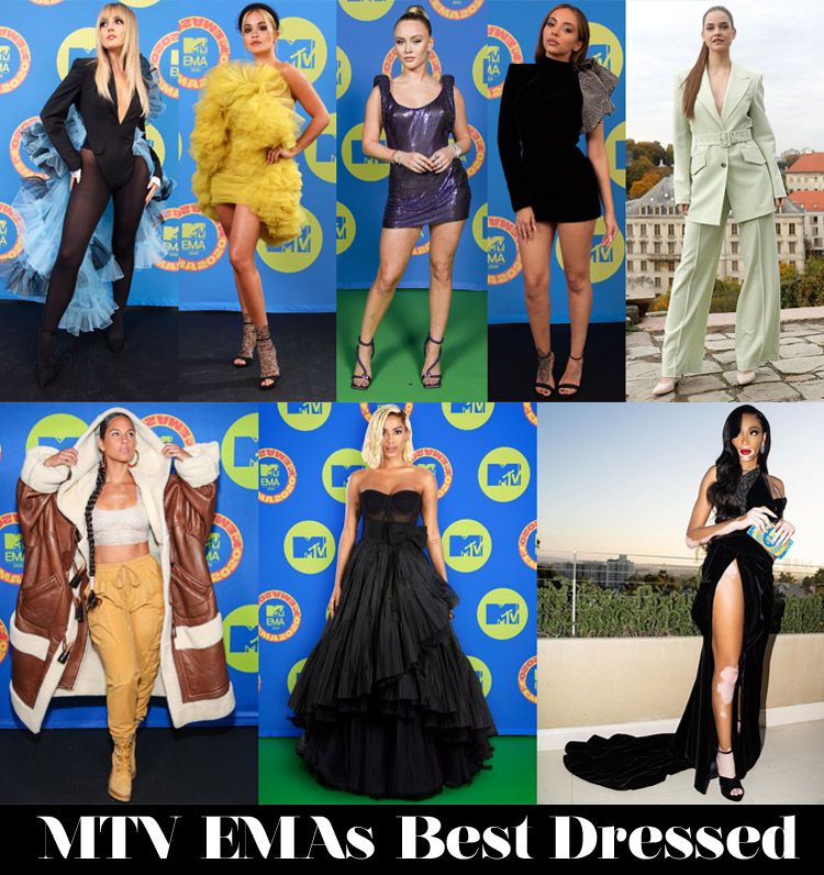 Who Was Your Best Dressed At The 2020 MTV EMAs?