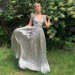 AnnaSophia Robb Wore Brock Collection For The 'Gram