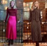 Emily Blunt Wore St. John & Celine Promoting 'Wild Mountain Thyme'