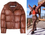 Kim Kardashian's Acne Studios Down Feather Jacket