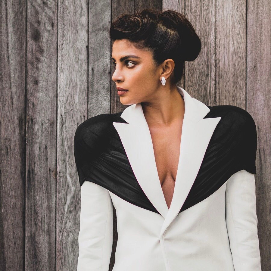 Priyanka Chopra Wore Kaushik Velendra To The 2020 British Fashion Awards