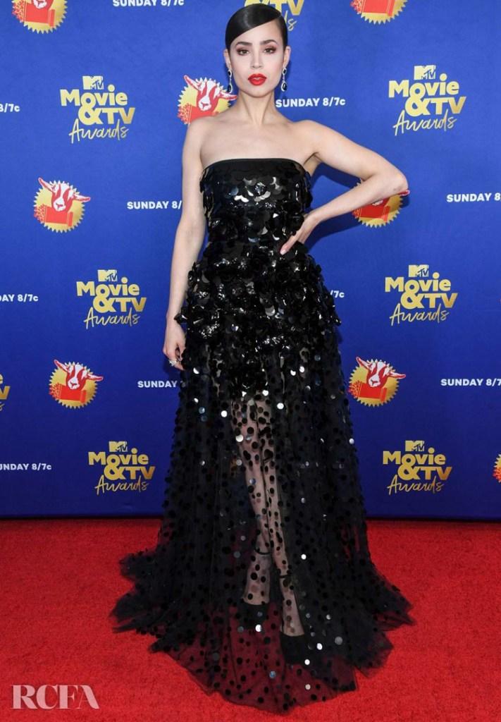 Sofia Carson Wore Valentino To The 2020 MTV Movie & TV Awards
