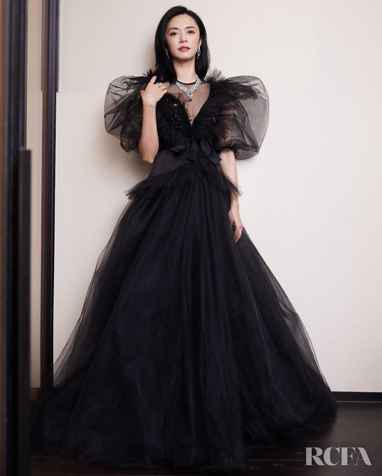Yao Chen 姚晨 Wore Giambattista Valli Haute Couture To The 2020 COSMO Glam Night